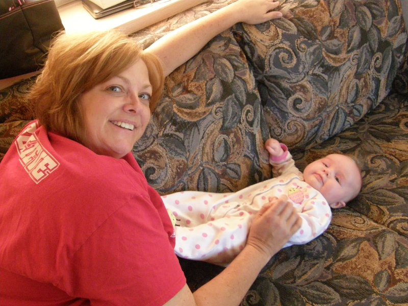 Aunt Cindy and Alivia