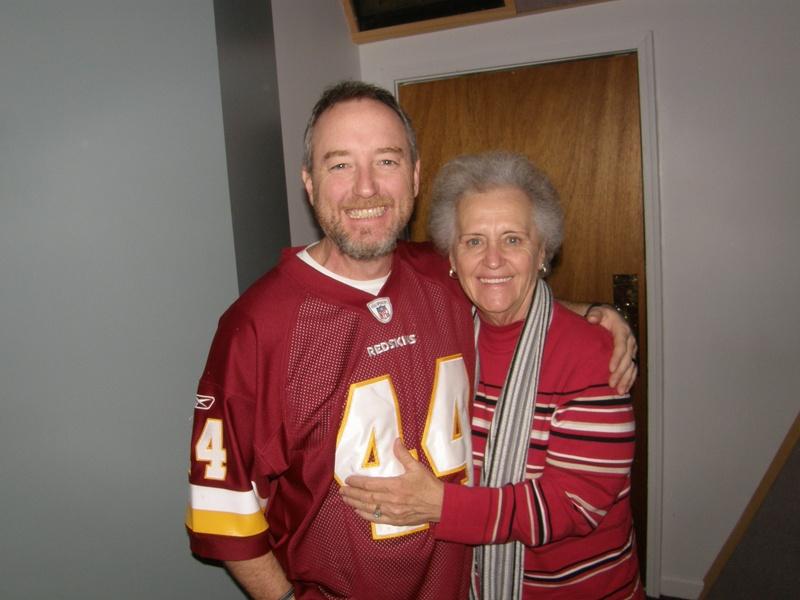 Tim Surrett and Mama Murray