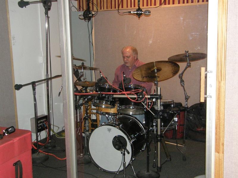 Tony keeping the beat